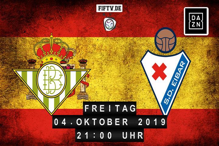 Real Betis Balompie Sevilla - SD Eibar Spielankündigung