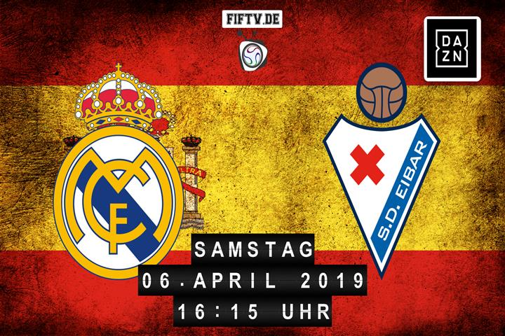 Real Madrid - SD Eibar Spielankündigung