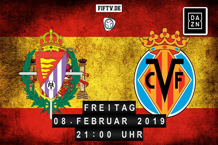 Real Valladolid - Villarreal FC Spielankündigung