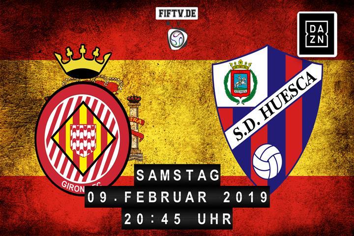 FC Girona - SD Huesca Spielankündigung