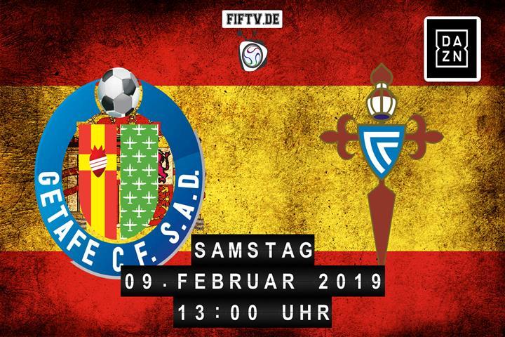 Getafe FC - Celta Vigo Spielankündigung