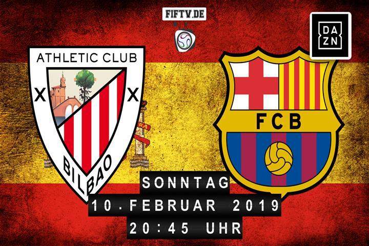 Athletic Club Bilbao - FC Barcelona Spielankündigung