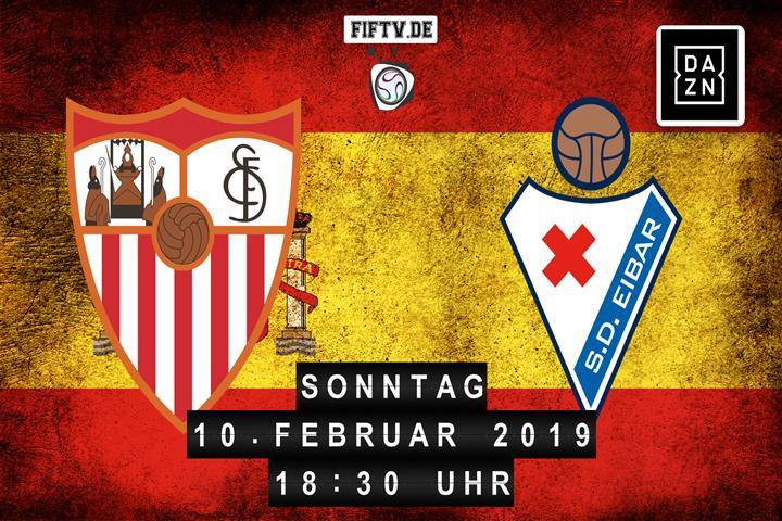 Sevilla FC - SD Eibar Spielankündigung