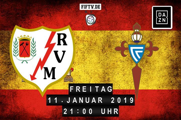 Rayo Vallecano - Celta Vigo Spielankündigung
