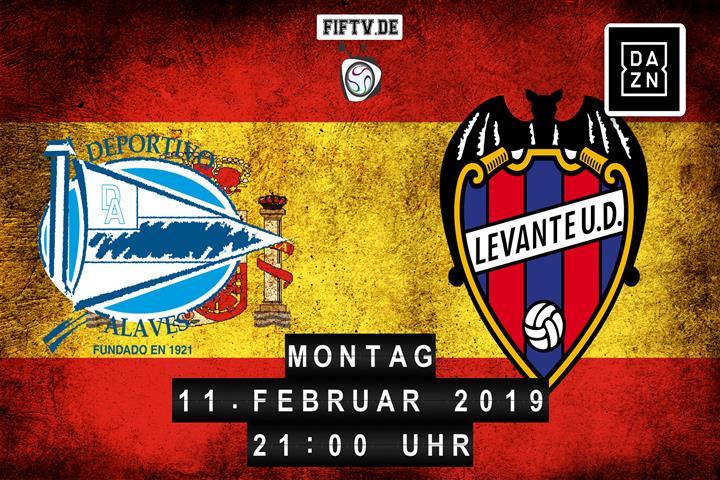 Deportivo Alaves - Levante UD Spielankündigung