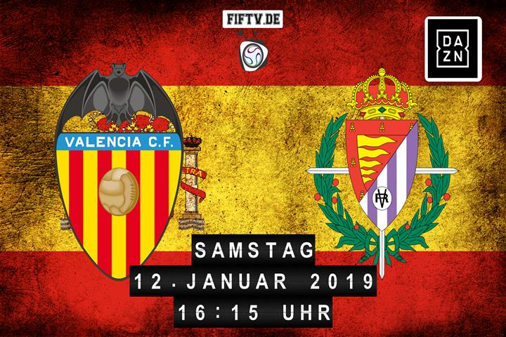 Valencia FC - Real Valladolid Spielankündigung