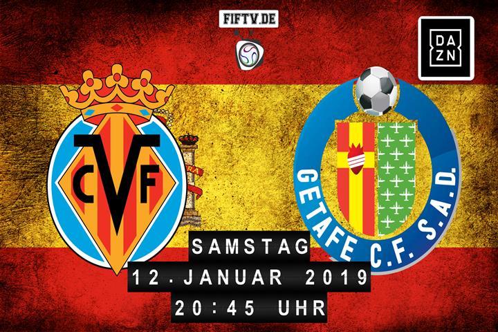 Villarreal FC - Getafe FC Spielankündigung