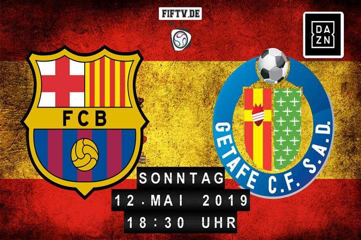 FC Barcelona - Getafe FC Spielankündigung