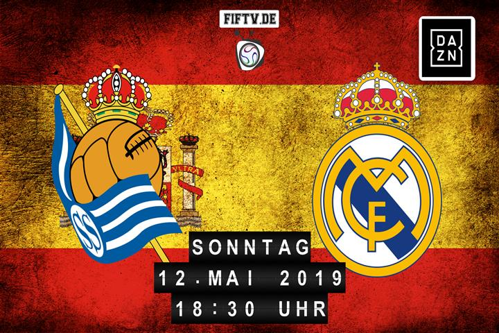 San Sebastian Real Sociedad - Real Madrid Spielankündigung