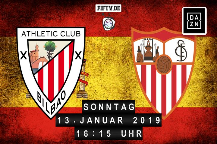 Athletic Club Bilbao - Sevilla FC Spielankündigung