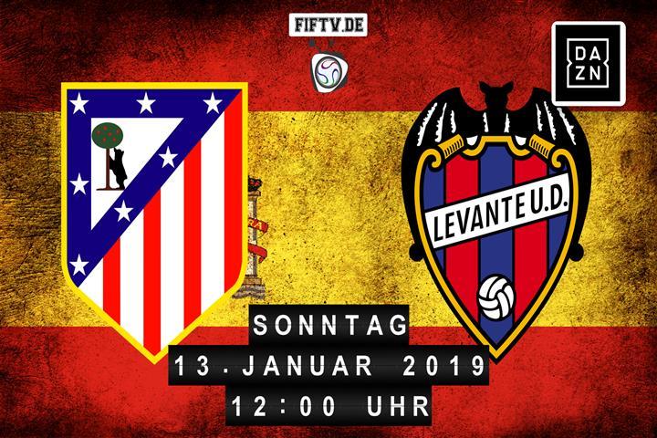 Atlético - Levante Spielankündigung