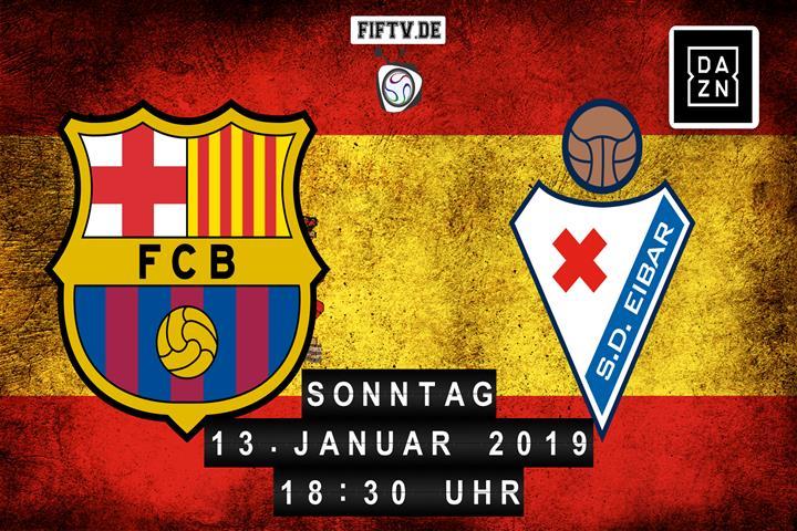 FC Barcelona - SD Eibar Spielankündigung