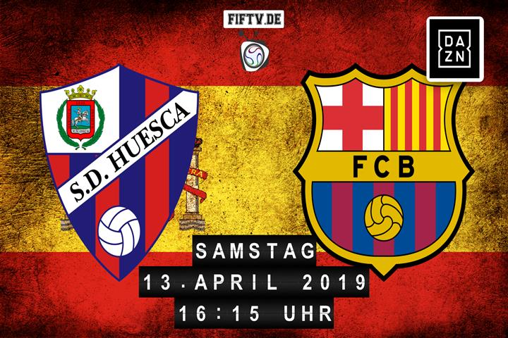 SD Huesca - FC Barcelona Spielankündigung