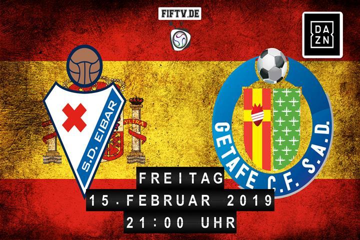 SD Eibar - Getafe FC Spielankündigung