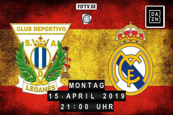 CD Leganes - Real Madrid Spielankündigung