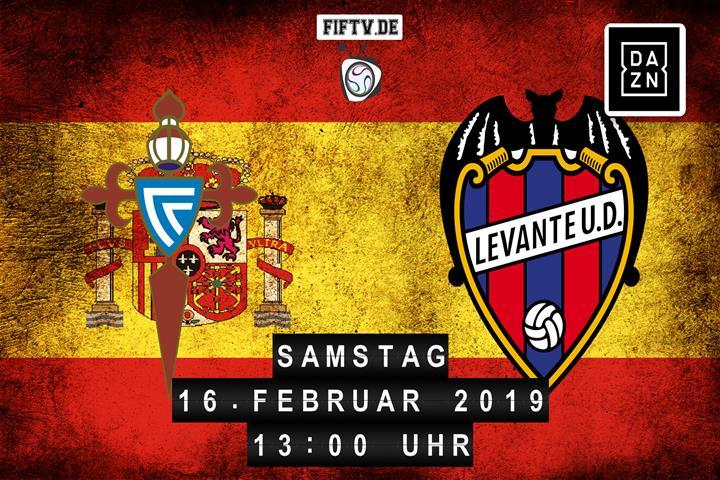 Celta Vigo - Levante UD Spielankündigung