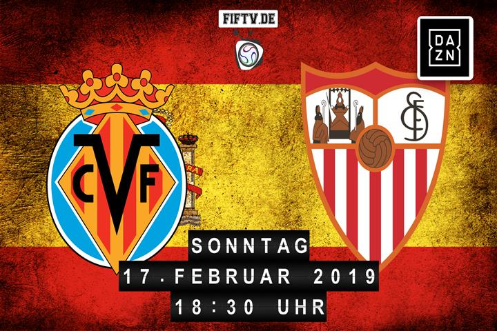 Villarreal FC - Sevilla FC Spielankündigung