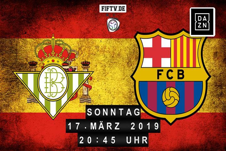 Real Betis Balompie Sevilla - FC Barcelona Spielankündigung