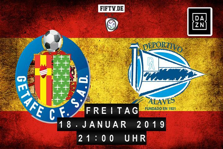 Getafe FC - Deportivo Alaves Spielankündigung