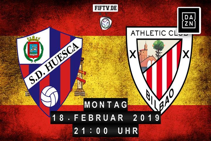 SD Huesca - Athletic Club Bilbao Spielankündigung