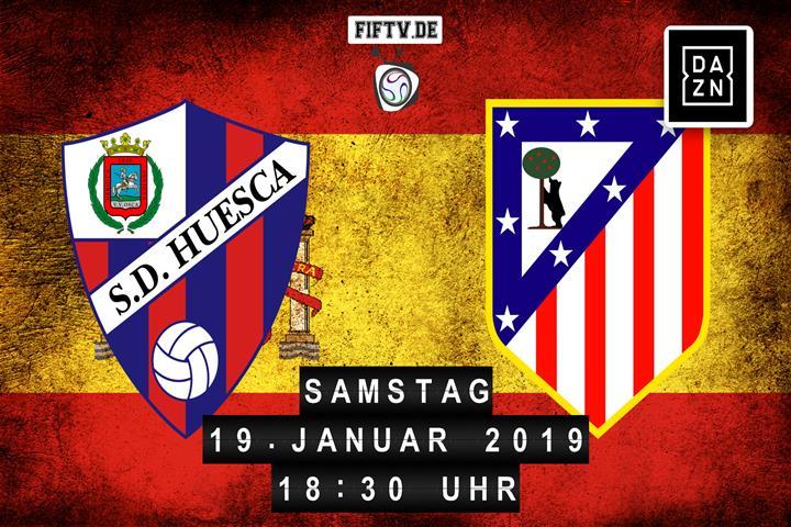 Huesca - Atletico Madrid Spielankündigung