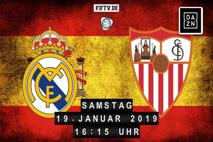 Real Madrid - Sevilla FC Spielankündigung