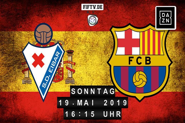 SD Eibar - FC Barcelona Spielankündigung