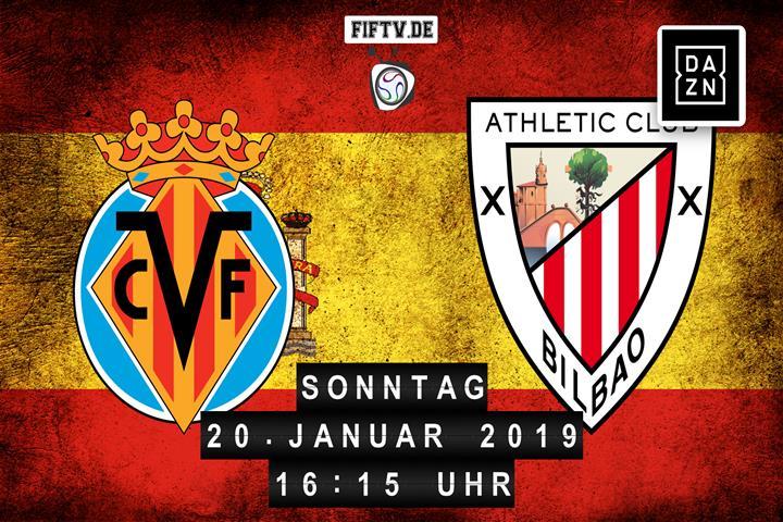 Villarreal FC - Athletic Club Bilbao Spielankündigung