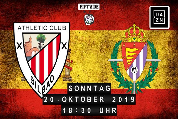 Athletic Club Bilbao - Real Valladolid Spielankündigung