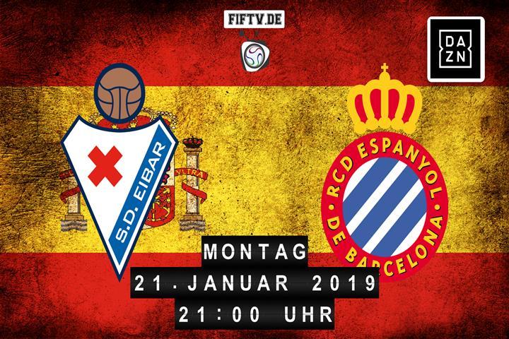 SD Eibar - Espanyol Barcelona Spielankündigung