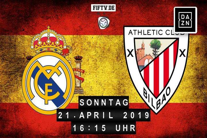 Real Madrid - Athletic Club Bilbao Spielankündigung