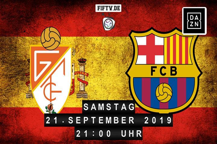 Granada FC - FC Barcelona Spielankündigung