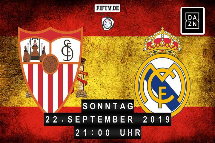 Sevilla FC - Real Madrid Spielankündigung