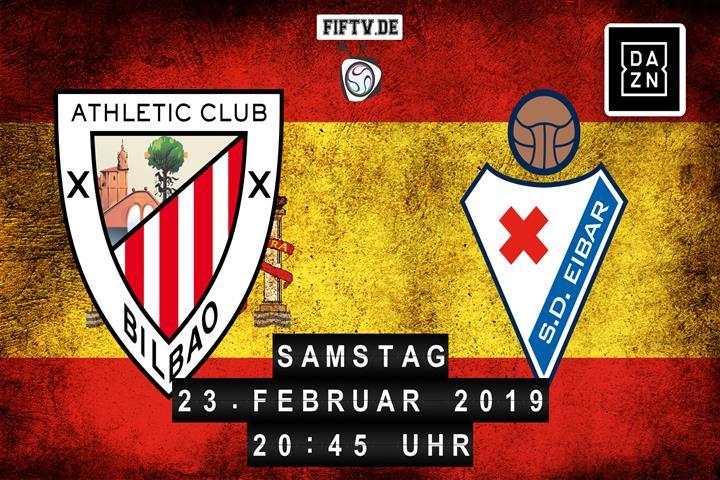Athletic Club Bilbao - SD Eibar Spielankündigung