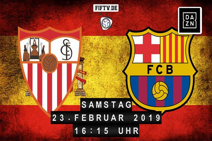 Sevilla FC - FC Barcelona Spielankündigung