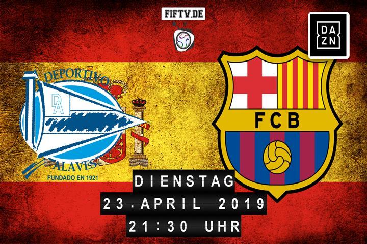 Deportivo Alaves - FC Barcelona Spielankündigung