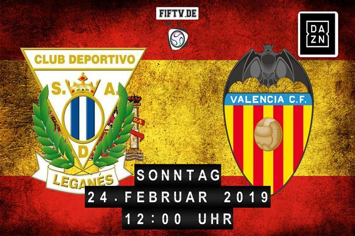 CD Leganes - Valencia FC Spielankündigung