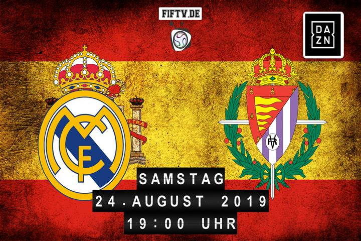 Real Madrid - Real Valladolid Spielankündigung