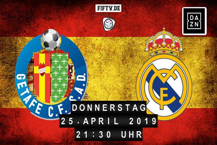 Getafe FC - Real Madrid Spielankündigung