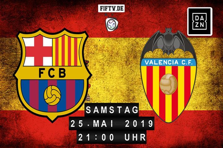 FC Barcelona - Valencia FC Spielankündigung