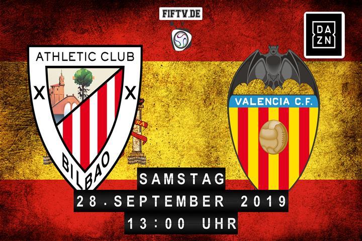 Athletic Club - Valencia Spielankündigung
