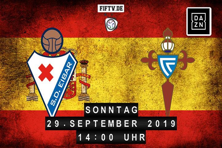 SD Eibar - Celta Vigo Spielankündigung