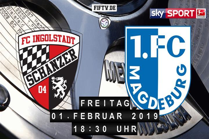 FC Ingolstadt - 1.FC Magdeburg Spielankündigung
