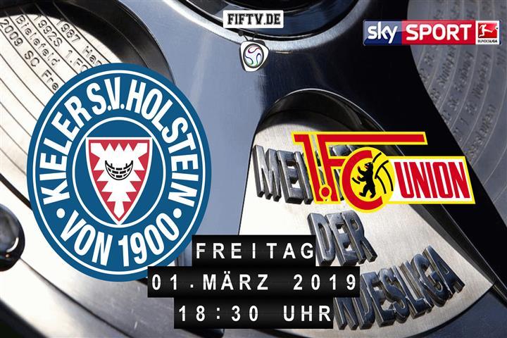 Holstein Kiel - Union Berlin Spielankündigung