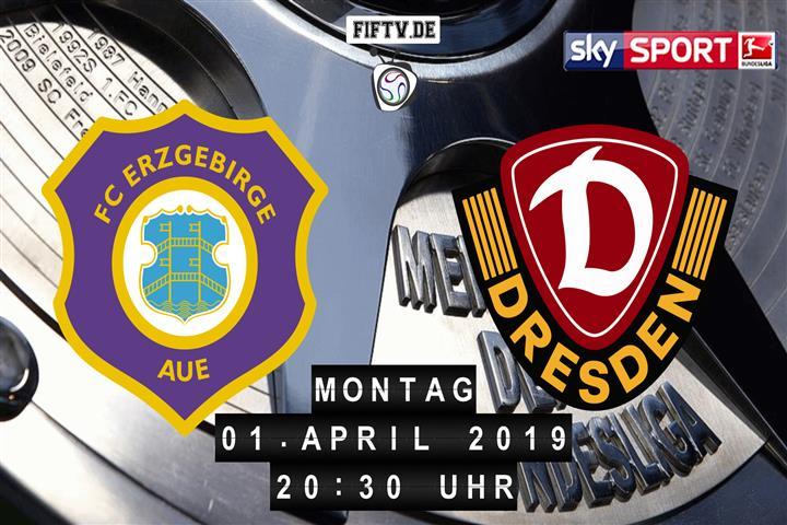 Erzgebirge Aue - Dynamo Dresden Spielankündigung