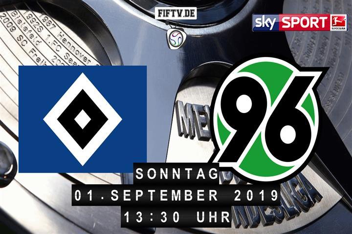 Hamburger SV - Hannover 96 Spielankündigung