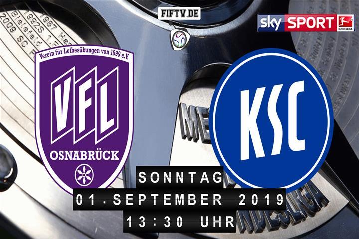 VfL Osnabrück - Karlsruher SC Spielankündigung