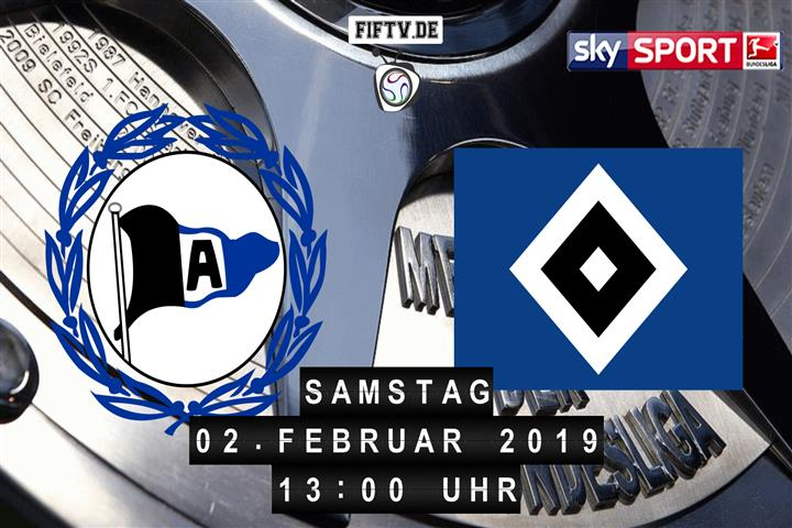 Arminia Bielefeld - Hamburger SV Spielankündigung