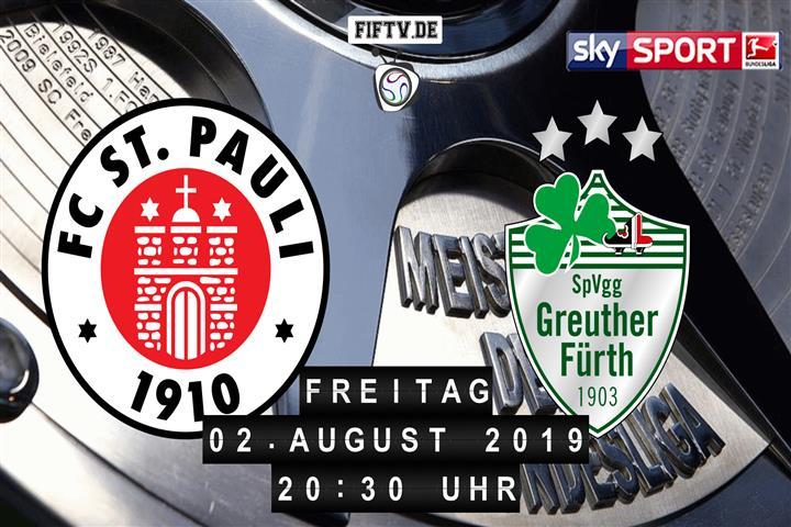 FC St. Pauli - SpVgg Greuther Fürth Spielankündigung