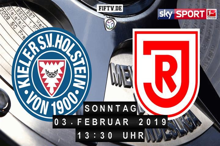 Holstein Kiel - Jahn Regensburg Spielankündigung